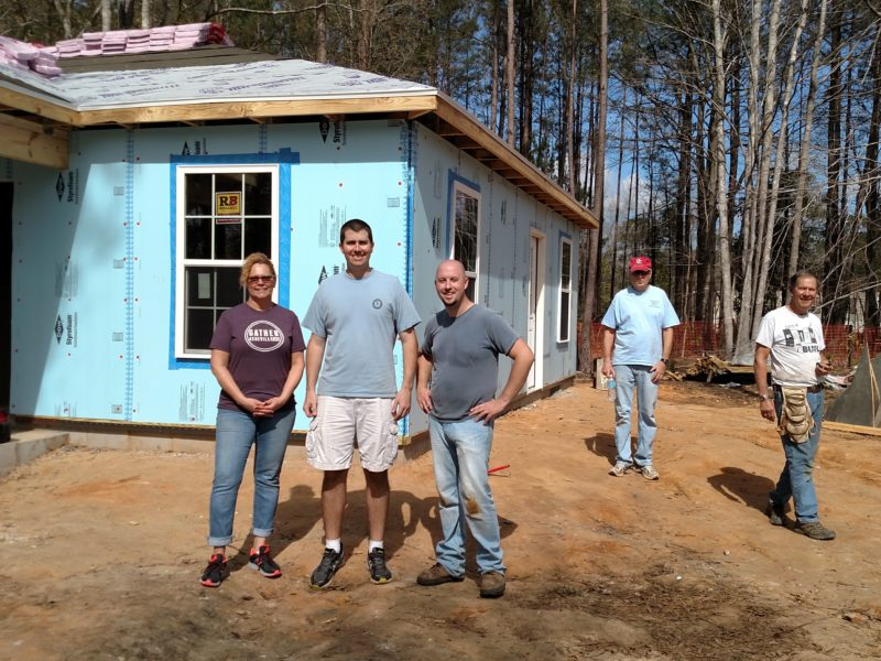 Cypress Team helps Habitat for Humanity with Home Build!